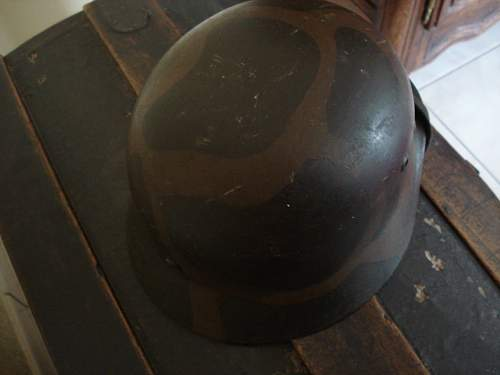 German turtle camo helmet
