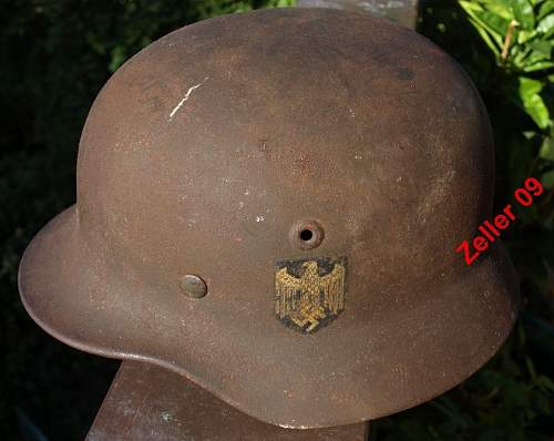salty and untouched Quist M40 SD helmet