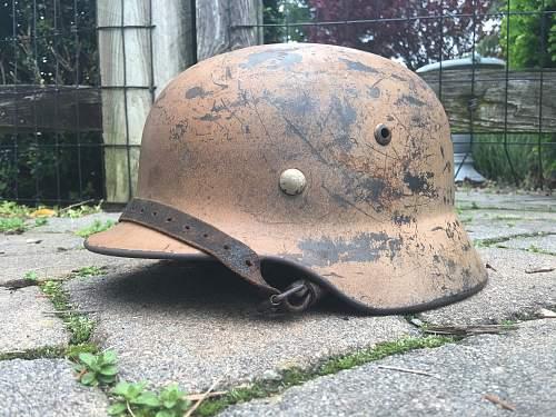 DD Luftwaffe M35 Q68 DAK fresh out of the woodwork!