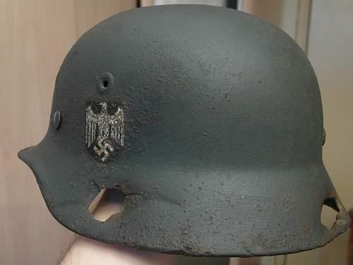 Stalingrad relic M35.
