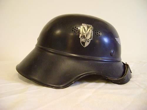 Factory Police Helmet - MIFA Factory