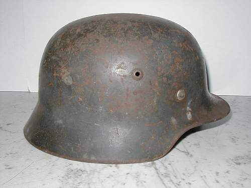 Thoughts on this Luftwaffe helmet and belt?