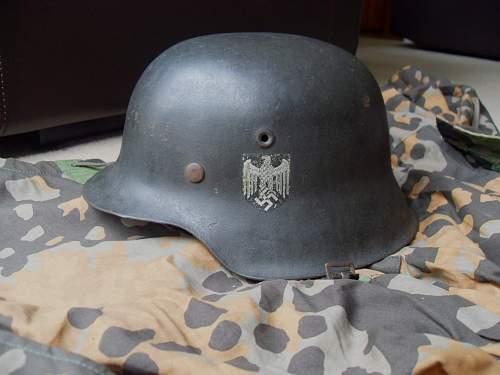 my 1st helmet at last!