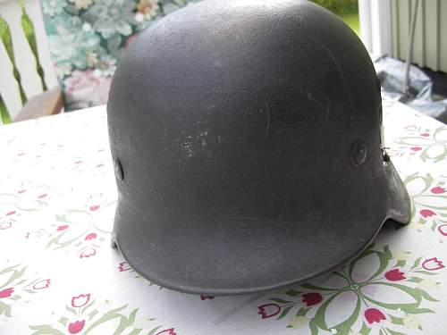 German M35 and 3 other Helmets.