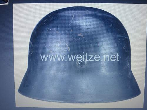 NEED HELP   Luftwaffe M35 DD  SE 62  -- right helmet with all good matching components ?