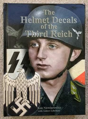 Helmet Resource Book #2 - 'The Helmet Decals of the Third Reich' by Ken N