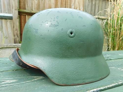 Is this a West German Police or BGS Helmet?