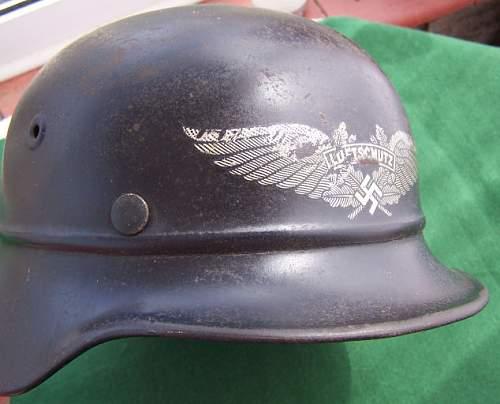 Beaded helmet production........ myths & mayhem