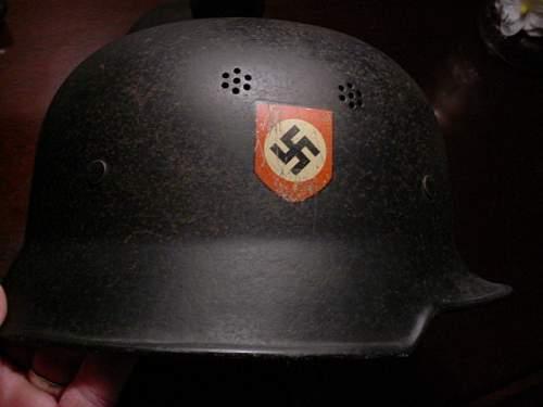 Police helmet,cival non combat?