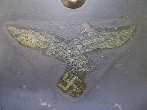 M35 Former DD Luft Reissue - Subdued Green Adler