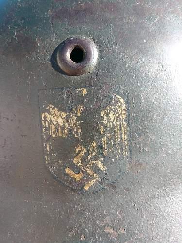 Vet bring back M35 possible Kriegsmarine