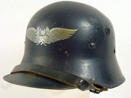 Screen Vent Luftschutz Air Defense Helmet