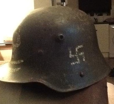 Finish army helmet