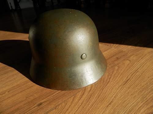 m40 helmet question