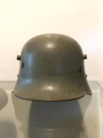 M1916 Double Decal Austrian Transitional Stahlhelm?