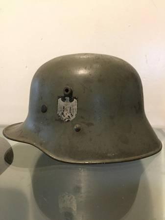 M1916 Double Decal Austrian Transitional Stahlhelm?