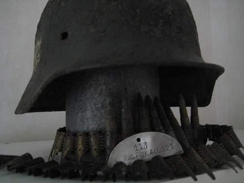 My first german ww2 relic helmet