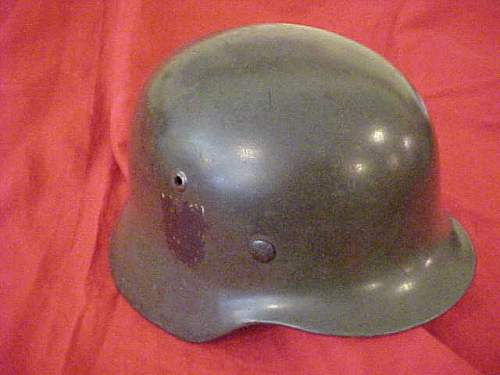 Opinions on M35 double decal Navy helmet