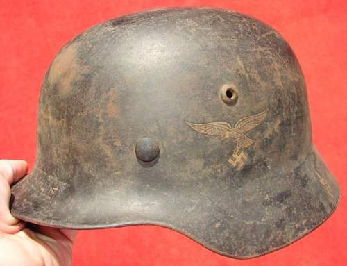 opinion on luftwaffe helmet.