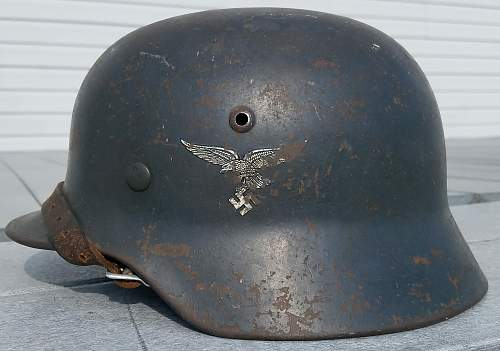 M35 Luftwaffe Double Decal Early bird Straight leg