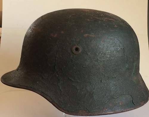 A spanisch helmet ?