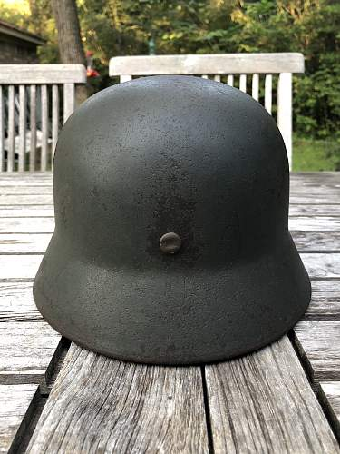Apple Green M35 Helmet Shell