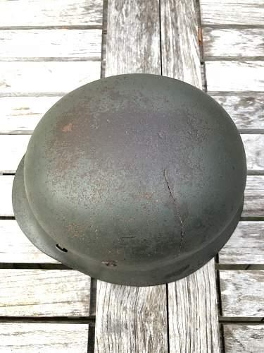 Apple Green M35 Helmet Shell
