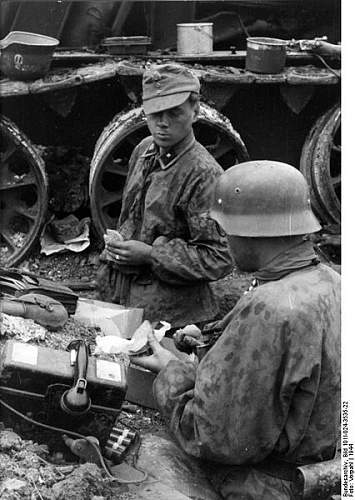 Click image for larger version.  Name:426px-Bundesarchiv_Bild_101I-024-3535-22%2C_Ostfront%2C_Waffen-SS-Angeh%C3%B6rige_bei_Rast[1].jpg Views:1563 Size:55.0 KB ID:123977