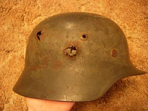 Battle damaged M35