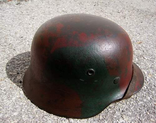 Luftwaffe M40 Cammo Helmet