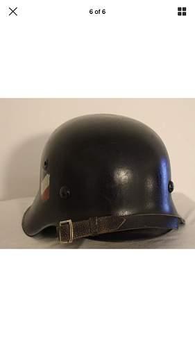 M42 German helmet