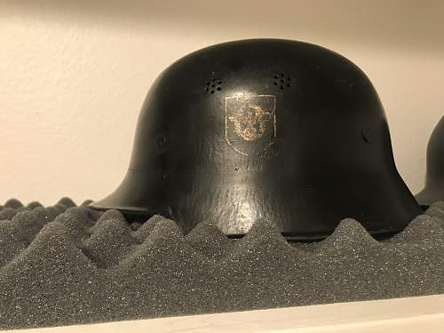 M34 Fire/Police civic helmet.