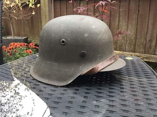 *help*German helmet