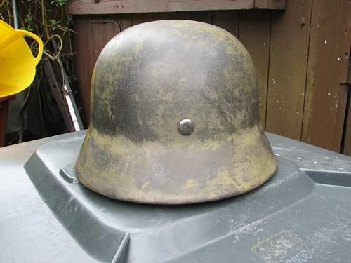 Repainted M40 DD helmet
