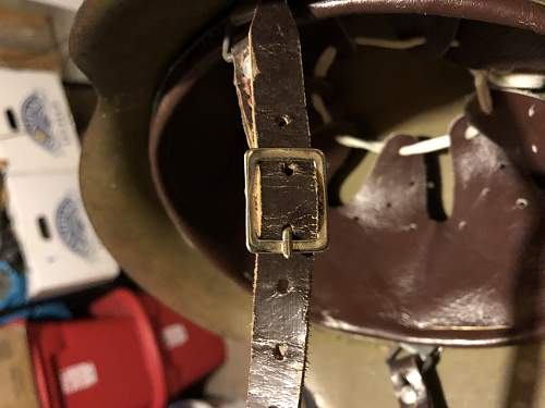 Norwegian M42 reissue helmet