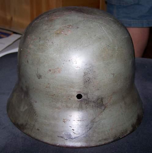 Police Helmet M35 DD
