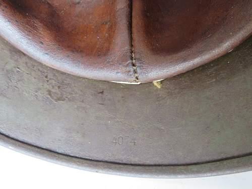 Kriegsmarine M35 DAK helmet, a real beauty