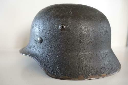 Real M40 Qeust helmet? Kriegsmarine?