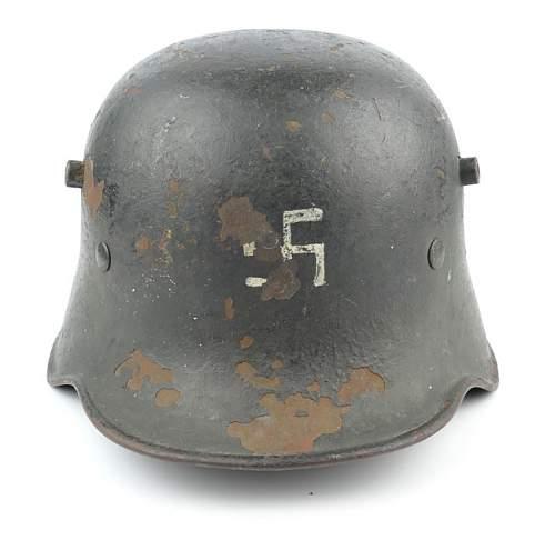 Orginal Freikorps/early SA helmet?