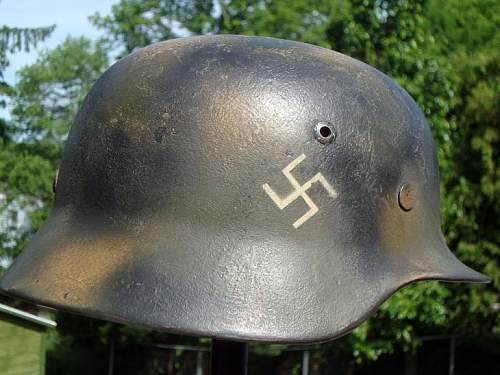 WW2 M40  w/painted Swastikas