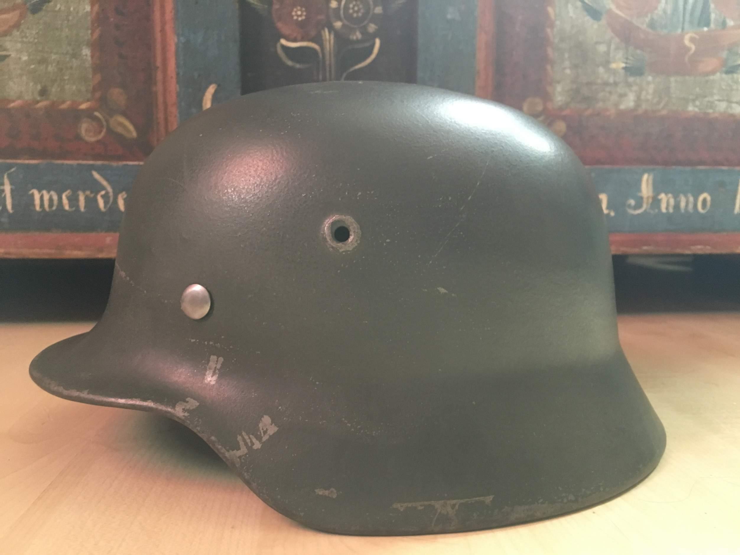 Question M40 Steel Helmet - Original Shell?