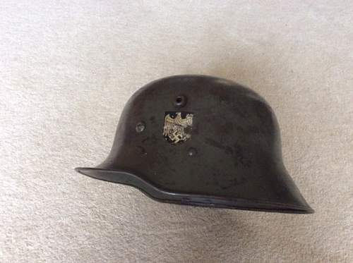 Ww1 german helmet