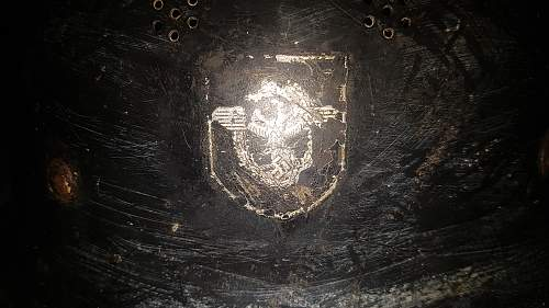 German Steel Helmet is it authentic?