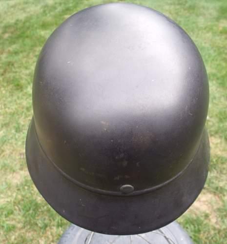 M40 DD Polizei Beaded helmet