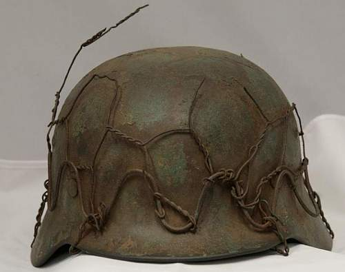 M35 Re-issue wire helmet