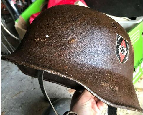 HJ Helmet and SS helmet