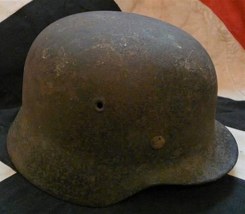 M40 Single Decal ET 64 Helmet - Loft Find - Named