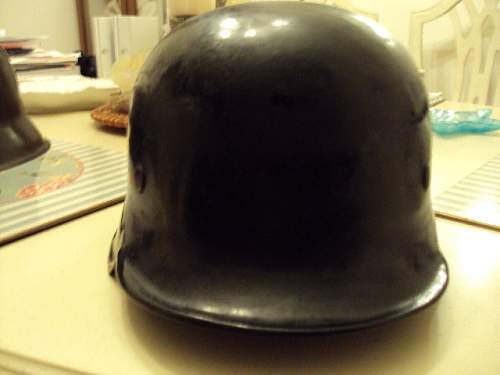 Police helmet---Looks good to me--what do you think?