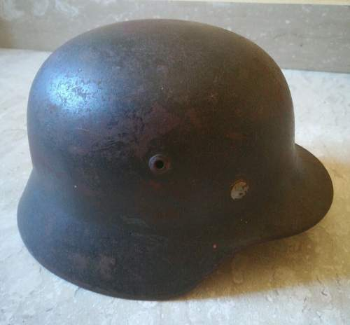 M. 35 German helmet, please give me some opinions...