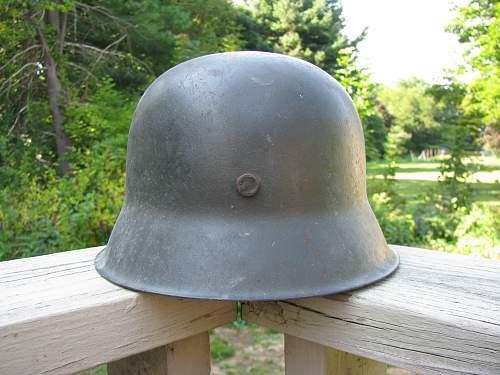 M42  helmet - possible volksturm use
